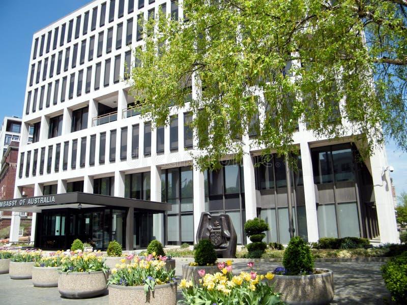Washington Embassy Austrália do abril de 2010 foto de stock