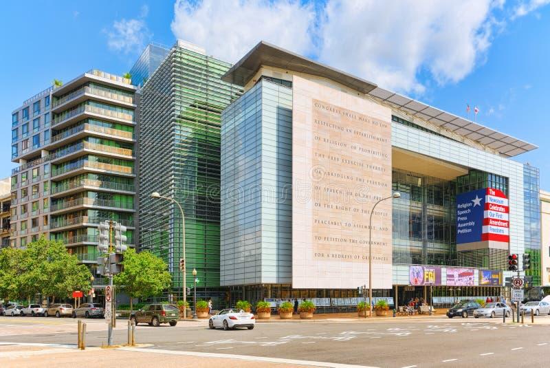 Washington, EUA, arquitetura da cidade urbana da cidade 555 Pensilvânia avoirdupois imagem de stock