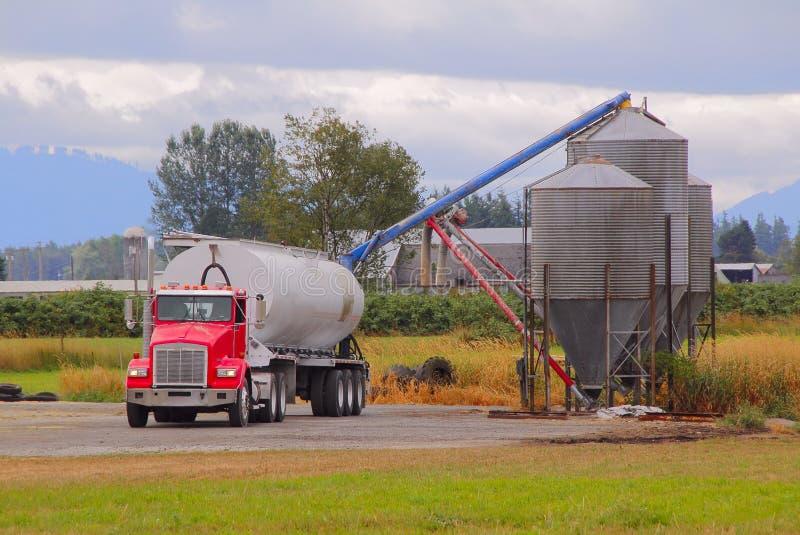 Washington Farm Feed fotografering för bildbyråer