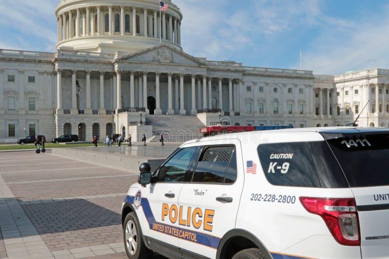 Washington, gelijkstroom-de Capitoolbouw stock fotografie