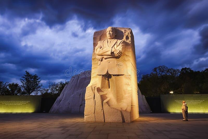 WASHINGTON, gelijkstroom - Gedenkteken aan Dr. Martin Luther King royalty-vrije stock afbeelding