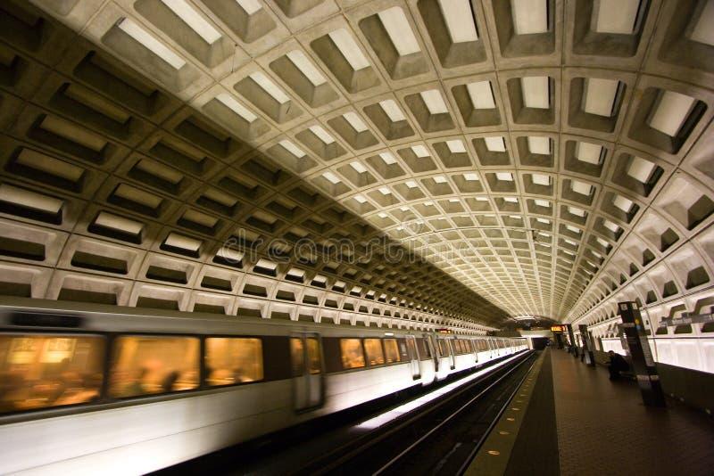 Washington, Gleichstrom-Metro-Tunnel stockfoto