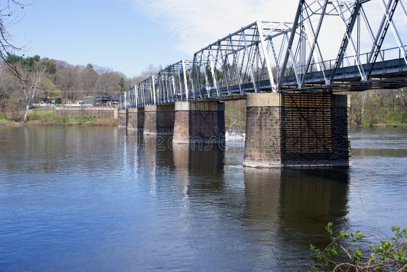 Washington korsa bro - B fotografering för bildbyråer