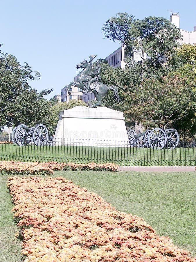 Washington Lafayette Park 2004 royalty free stock image