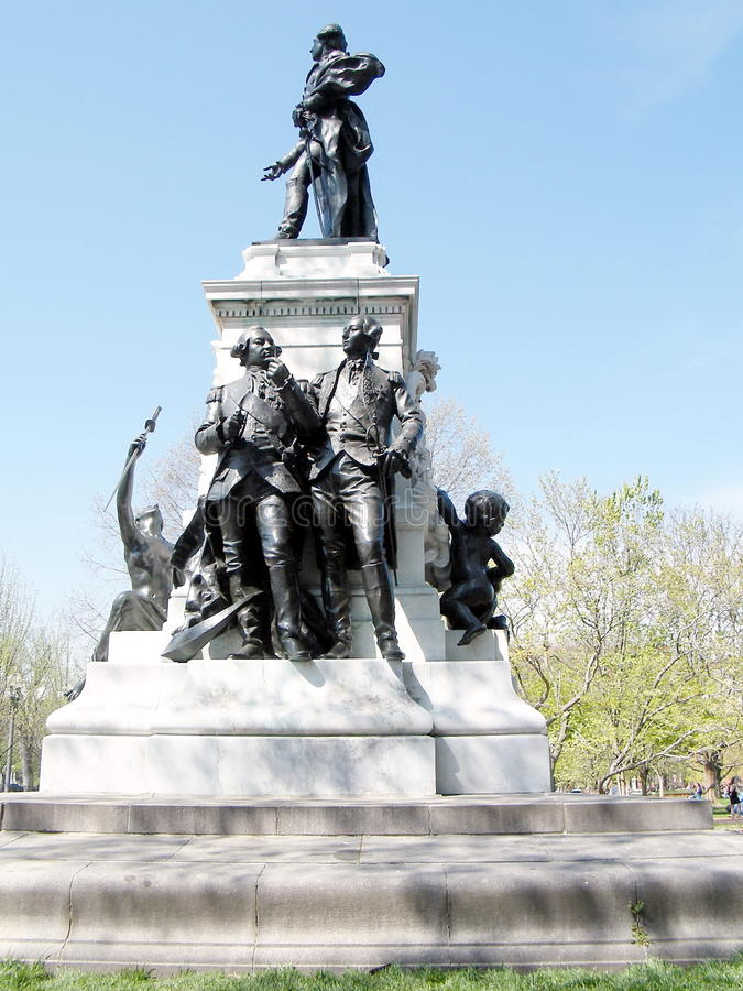 Washington Lafayette Park Kosciuszko Statue 2010 photographie stock libre de droits