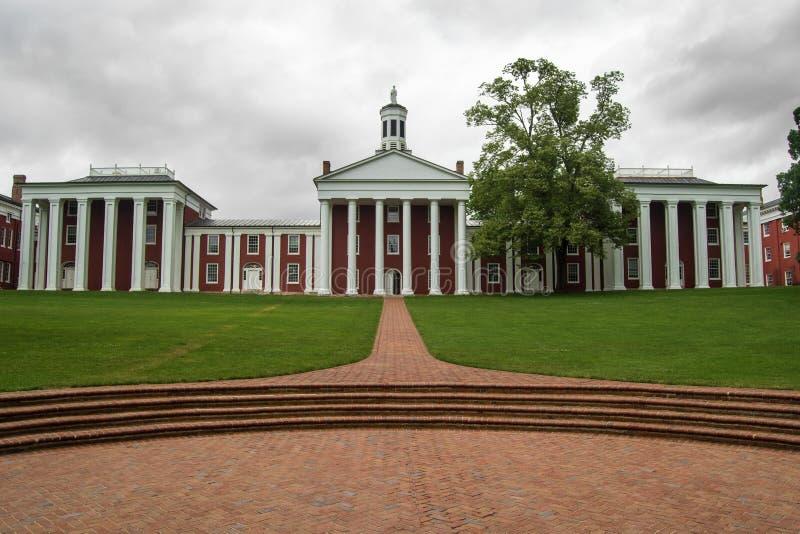 Washington and Lee University royalty free stock photography