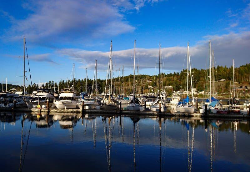 Washington Marina lizenzfreie stockfotografie