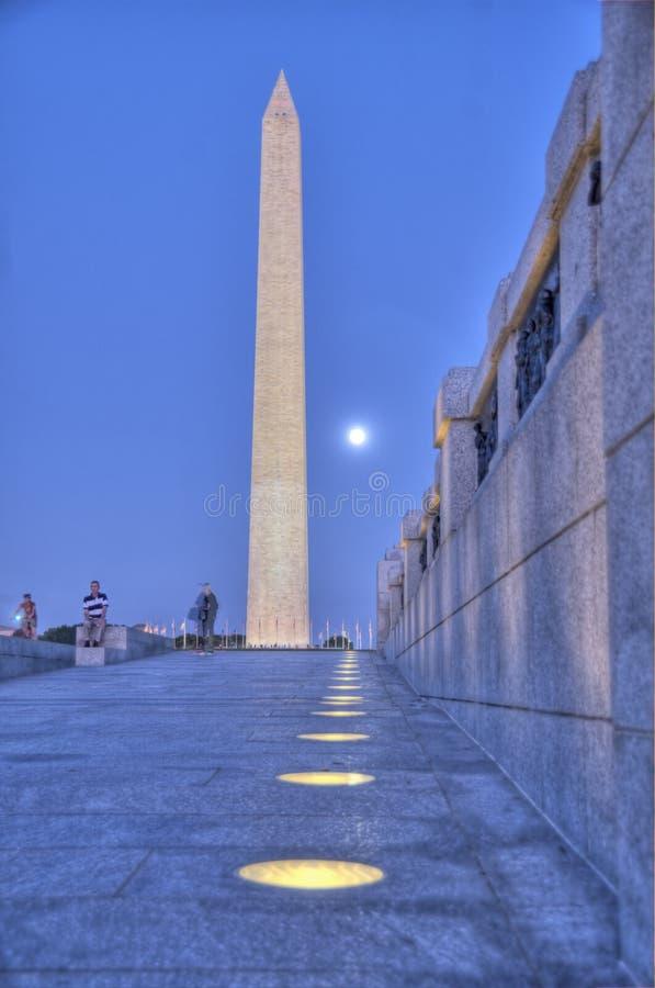 Download Washington Monument stock image. Image of night, obelisk - 11409185