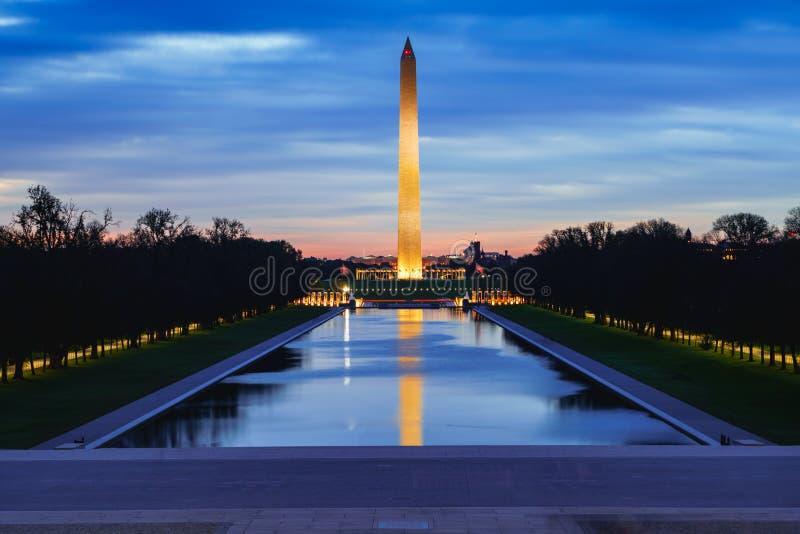 Washington Monument immagini stock