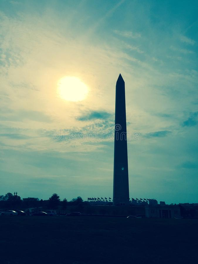 Washington Monument photographie stock libre de droits