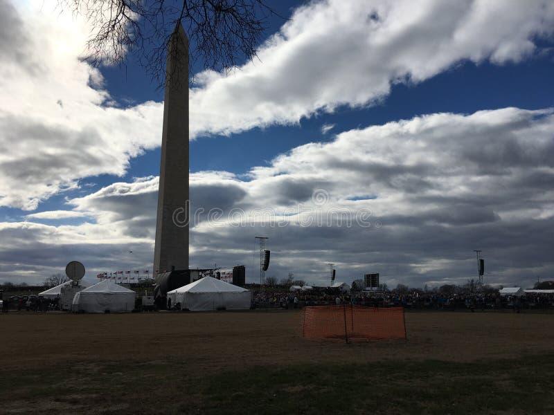 Washington Monument stockbild