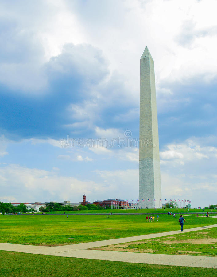Washington Monument royalty-vrije stock fotografie