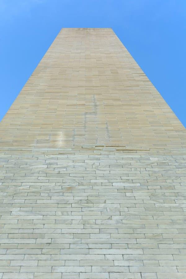 Washington Monument dal fondo immagine stock