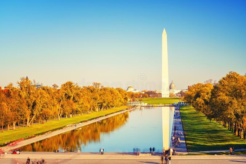 Washington Monument, Etats-Unis image libre de droits