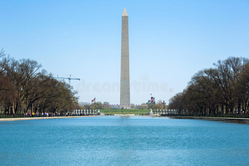 Download Washington Monument stock photo. Image of cloudy, memorial - 42492516