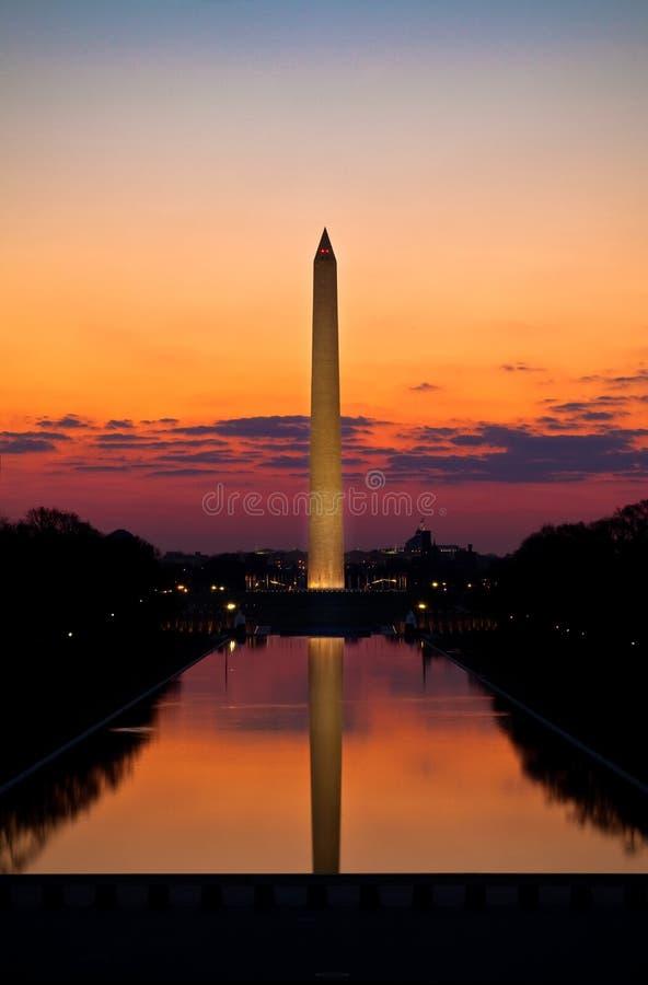 Free Washington Monument Sunrise Stock Images - 14063494