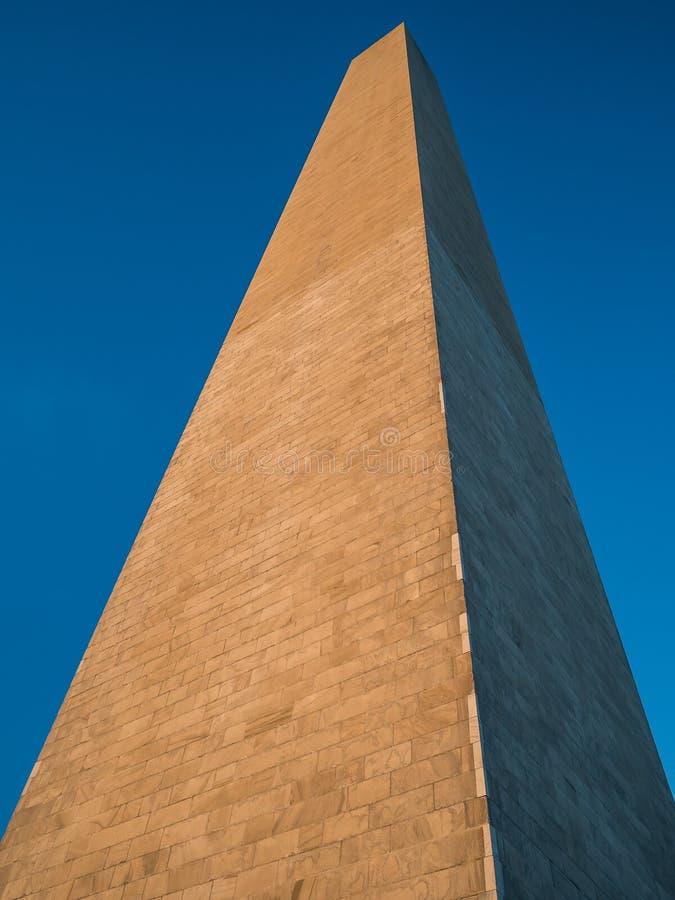 Washington Monument-uprise stock foto