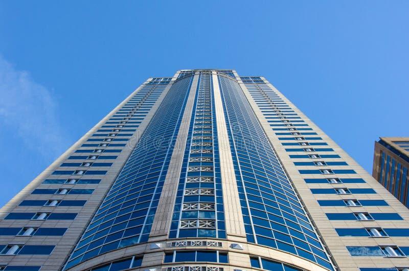 Washington Mutual Tower i Seattle royaltyfri bild