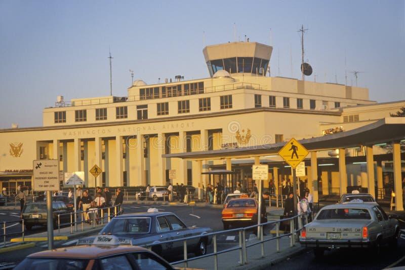 Washington National Airport, Washington, DC stock image