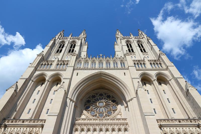 Washington National Cathedral foto de archivo