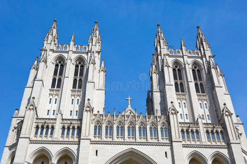 Washington National Cathedral stock afbeelding
