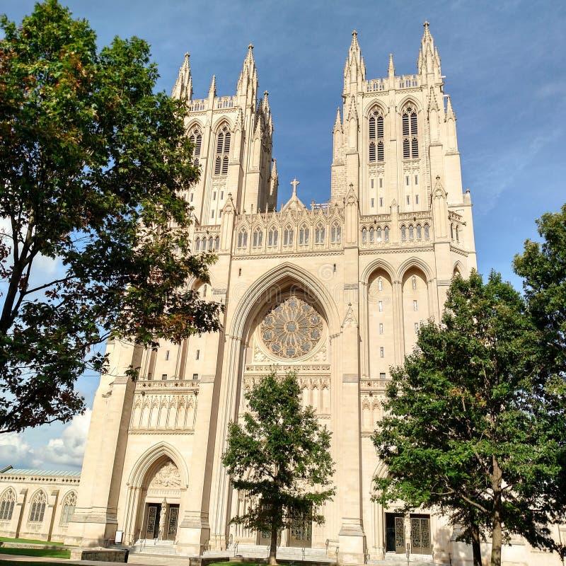 Washington National Cathedral, Washington DC stock photography