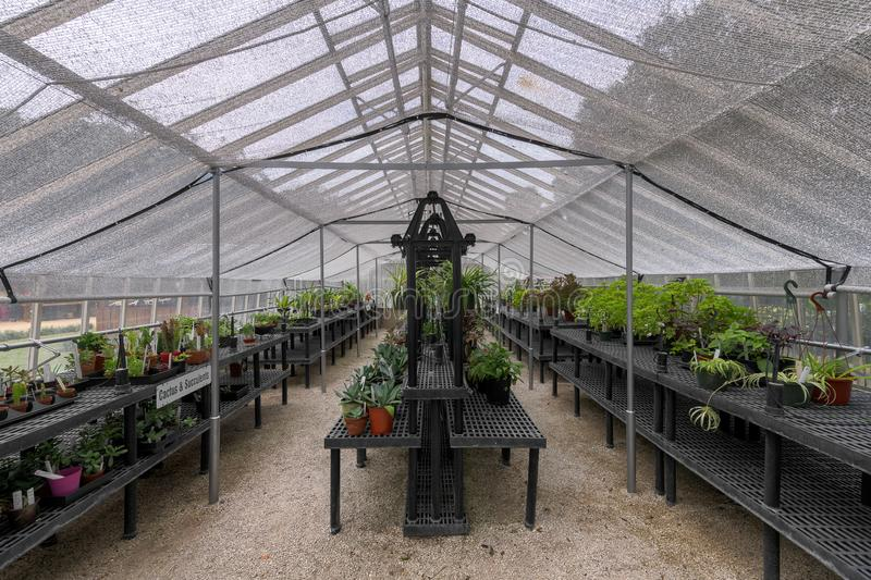 Washington Oaks Greenhouse photographie stock