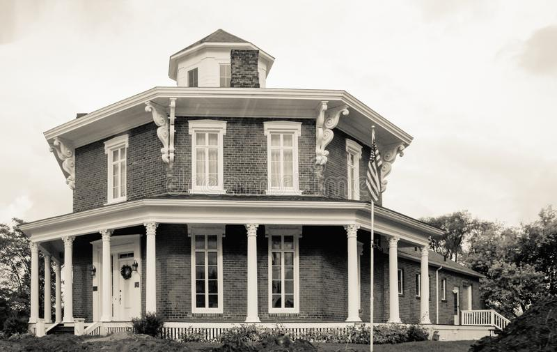 Washington Octagon House fotografia stock libera da diritti