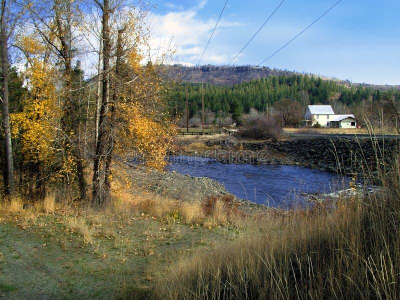 Washington oriental rural dans l'automne tôt photo stock