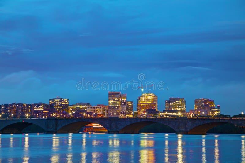 Washington, paesaggio urbano di DC immagine stock libera da diritti