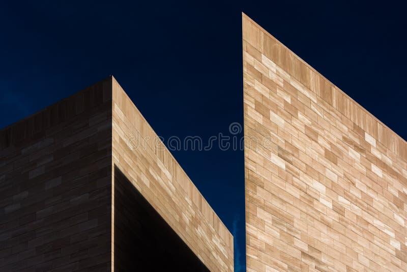 Washington rentré abstrait architectural, C.C photos stock