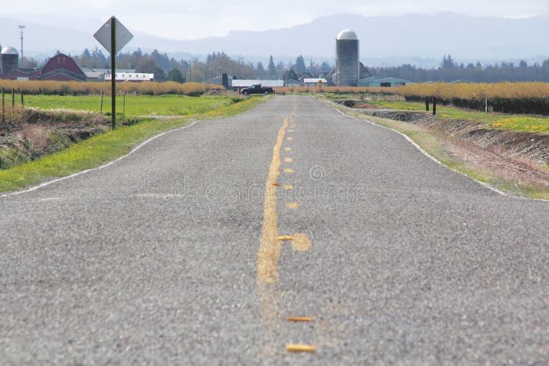 Washington Rural Road photos libres de droits