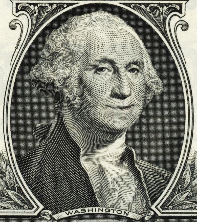 MONEY FINANCIAL PLANNING WEALTH MANAGEMENT RETIREMENT FUND. Portrait of George Washington smiling on dollar bill stock photos