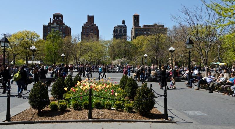 Washington Square royalty free stock photos