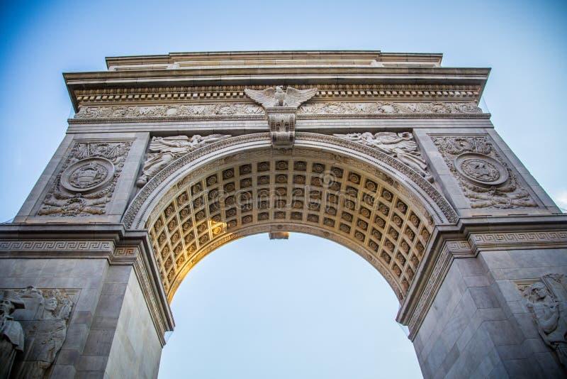 Washington Square Arch royalty-vrije stock fotografie