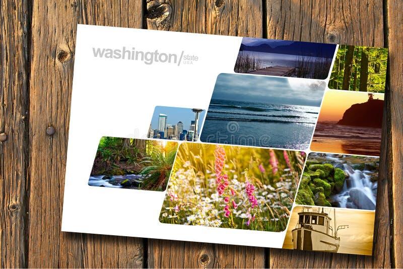Washington State arkivfoto