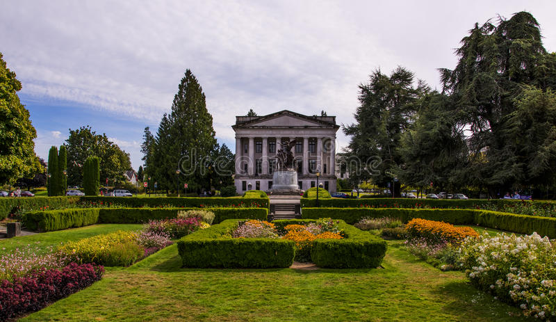 Washington State Capitol Campus royalty free stock photo