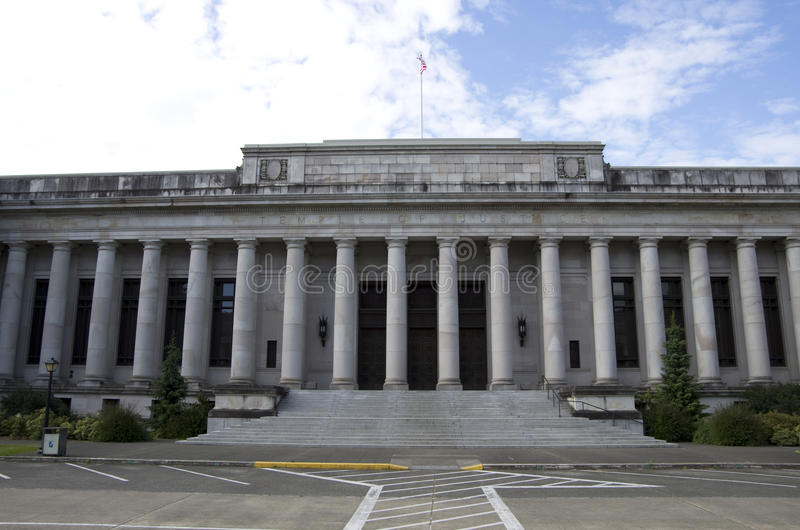 Washington State Capitol-de campusbouw royalty-vrije stock afbeelding