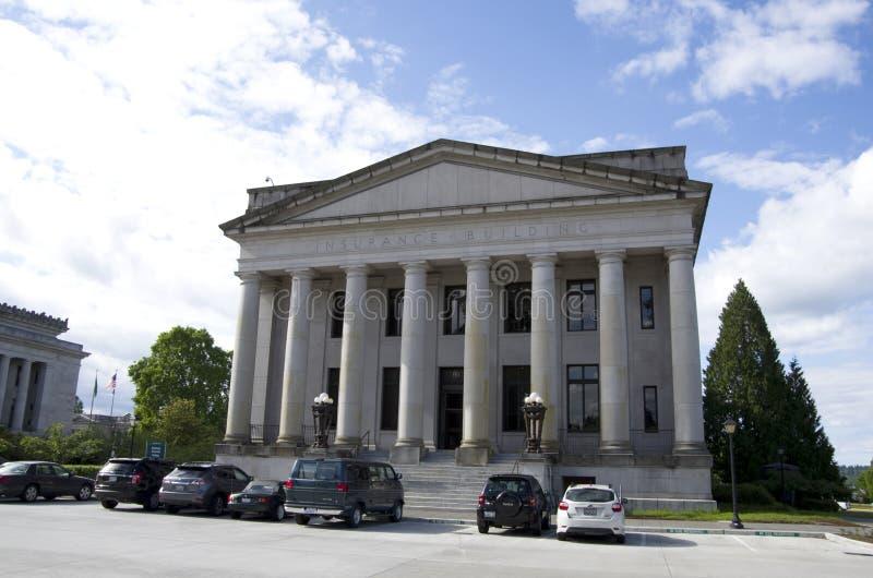 Washington State Capitol-de campusbouw stock foto's