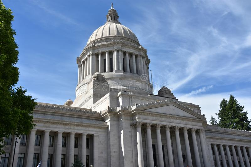 Washington State Capitol in Olympia, Washington stock afbeeldingen