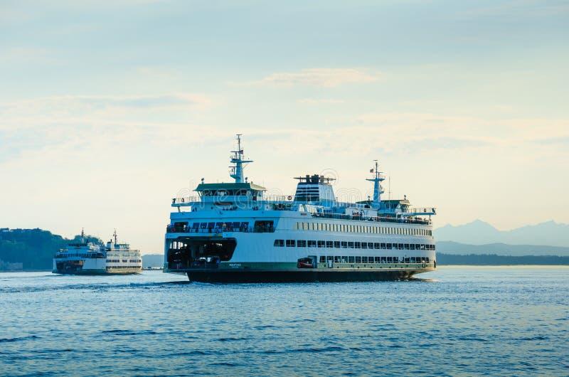Washington State Ferries royalty-vrije stock afbeeldingen