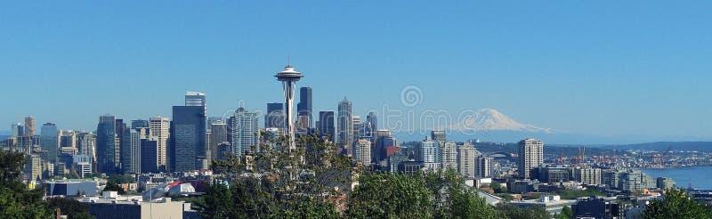 Washington state nipple - Rainer royalty free stock photos