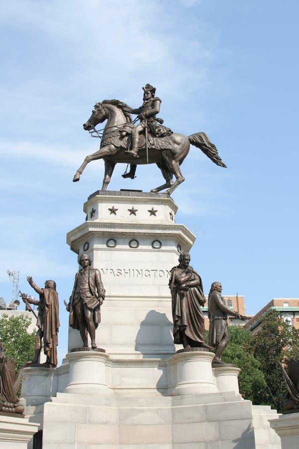 Washington-Statue stockfotos