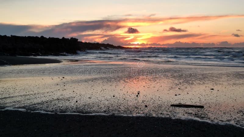 Washington sunsets stock afbeelding