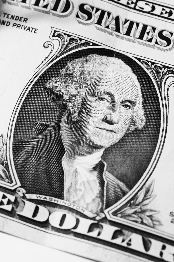 Download Washington sur le dollar image stock. Image du abord - 77156503
