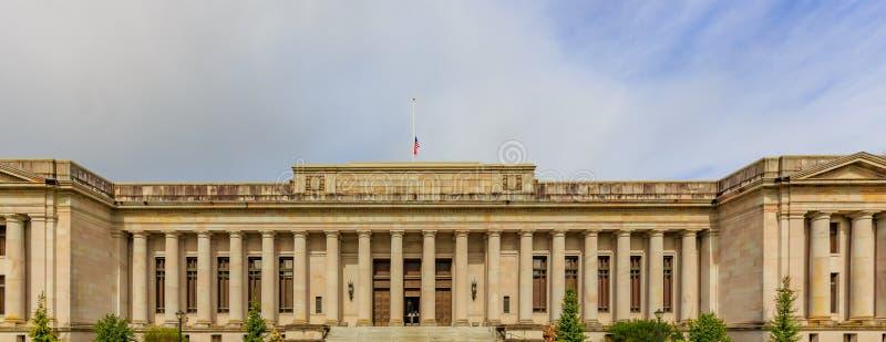 Washington Temple van Rechtvaardigheid royalty-vrije stock foto's