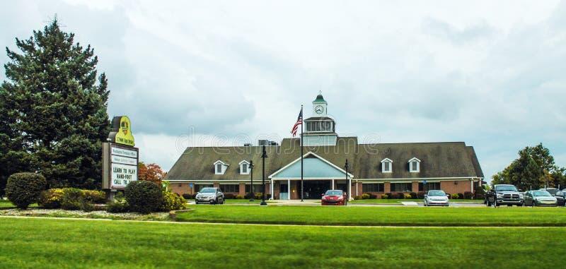 Washington Township Offices Building fotografia stock