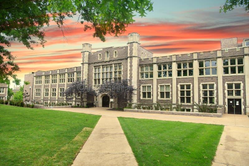 Washington University imagem de stock