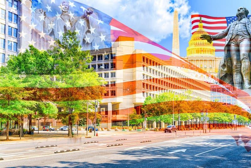 Washington, USA, Federal Bureau of Investigation Headquarters royalty free stock image
