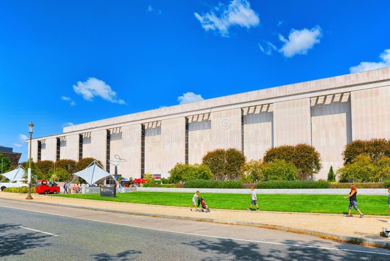 Washington USA, Smithsonian nationellt museum av amerikansk historia royaltyfria foton